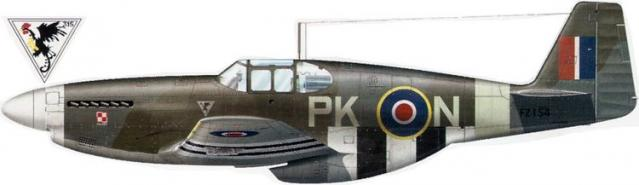 Mustang iii fz154 no 315 polish squadron