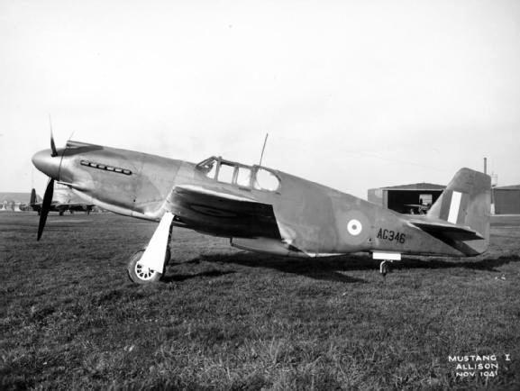 Mustang mk i ag346 november 1941