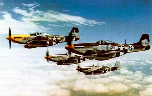 Mustang p 51 361st fg 375th fs