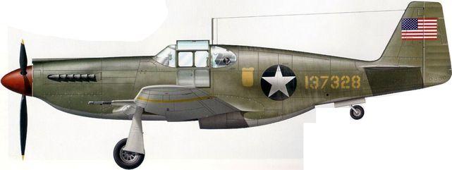 Mustang p 51 41 37328