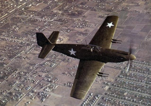 Mustang p 51 apache