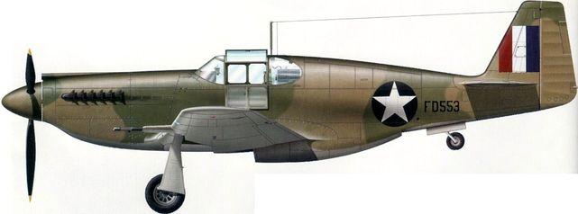 Mustang p 51 na fd553
