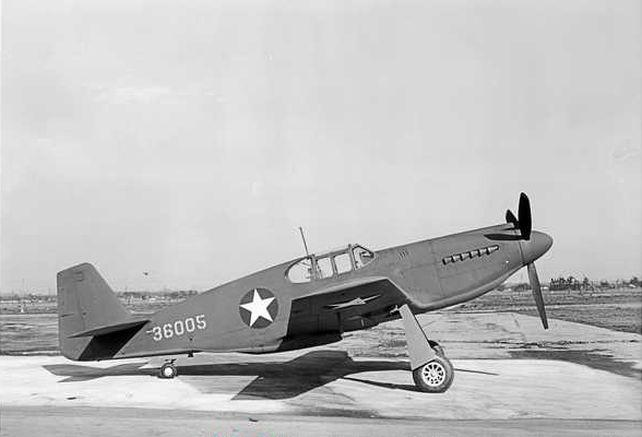 Mustang p 51a 36005