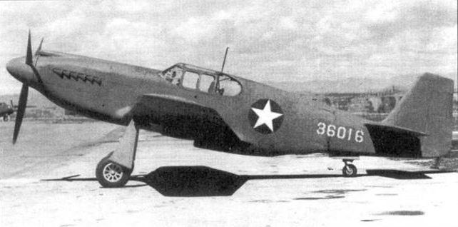 Mustang p 51a 36016