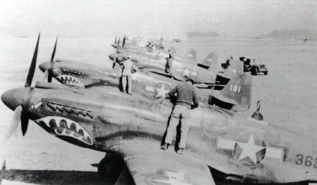 Mustang p 51a 76th fs 23rd fg