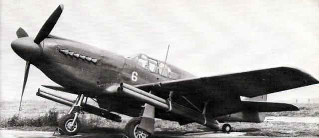 Mustang p 51a rockets