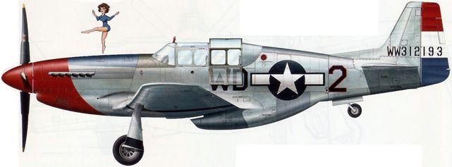 Mustang p 51b 1 na 43 12194