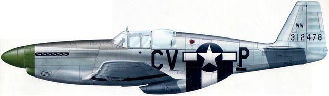 Mustang p 51b 1 na 43 12478