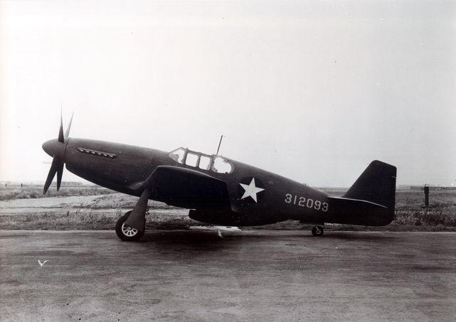 Mustang p 51b 43 12093