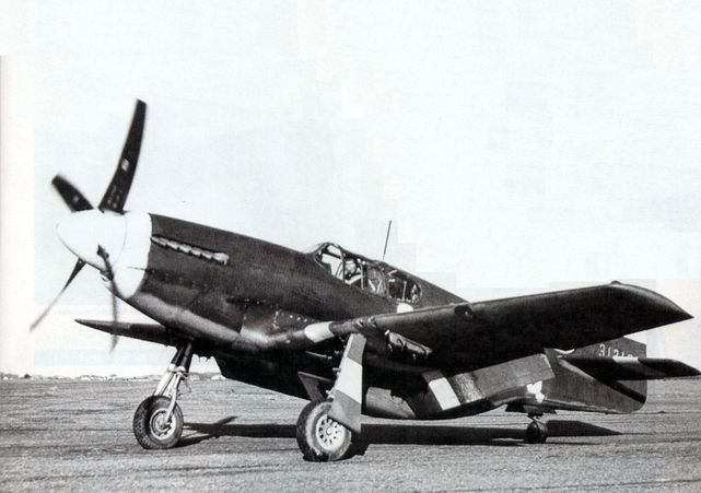 Mustang p 51b 43 12198 two seater