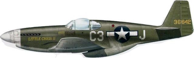 Mustang p 51b 43 6642 382nd fg