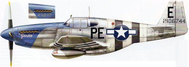 Mustang p 51b pe e