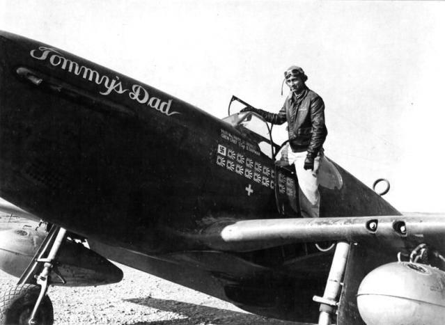 Mustang p 51b tommy s dad majaor john c herbst