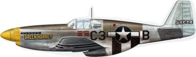 Mustang p 51c 42 103613 green hornet