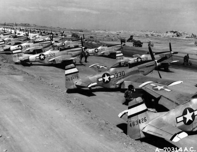 Mustang p 51d 531st fs 21st fg iwo jima 1945