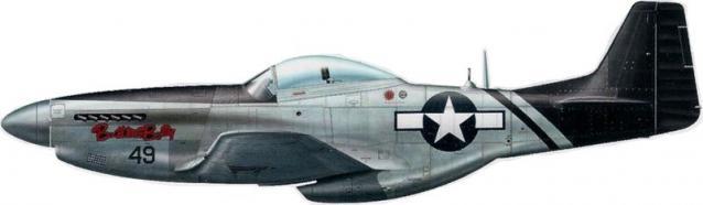 Mustang p 51d 75th fs 23rd fg