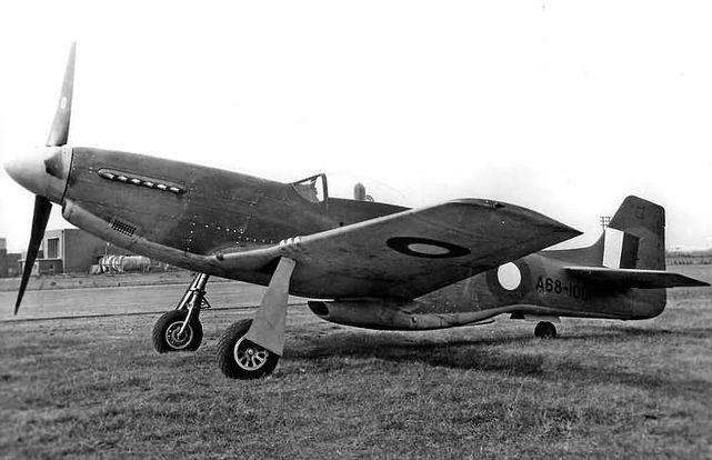 Mustang p 51d a68 1001