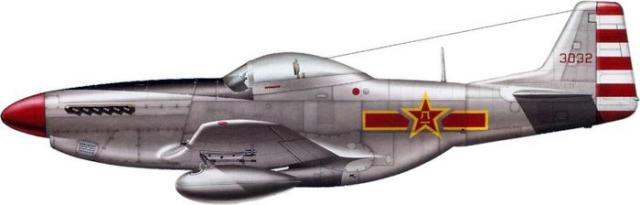 Mustang p 51d chine