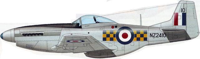 Mustang p 51d nz2410