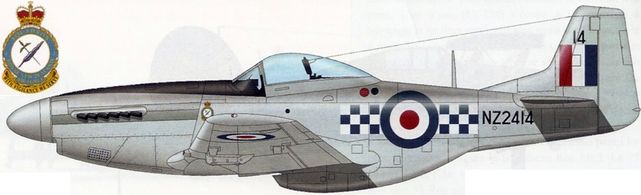 Mustang p 51d nz2414