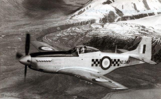 Mustang p 51d nz2417