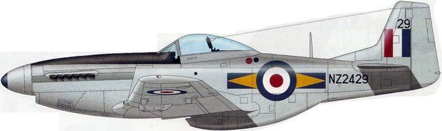 Mustang p 51d nz2429