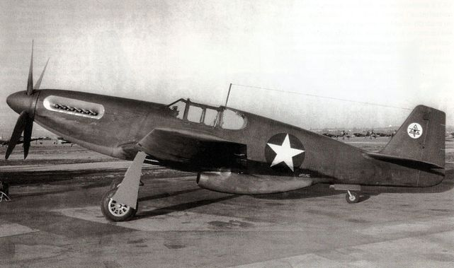 North american xp 51b mustang