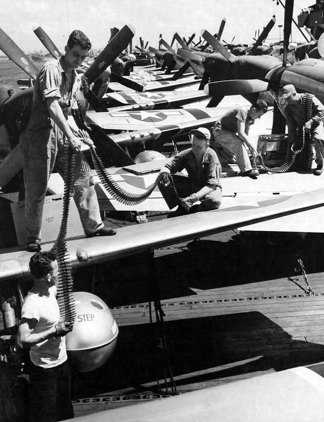 P 51 15th fg guam 1945