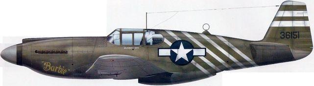 P 51 a barbie