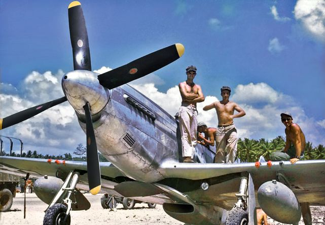 P 51 mustang 82nd trs morotai