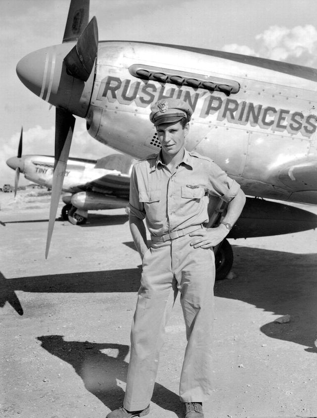 P 51 rushin princess