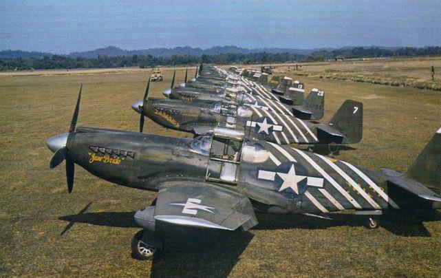 P 51a mustang