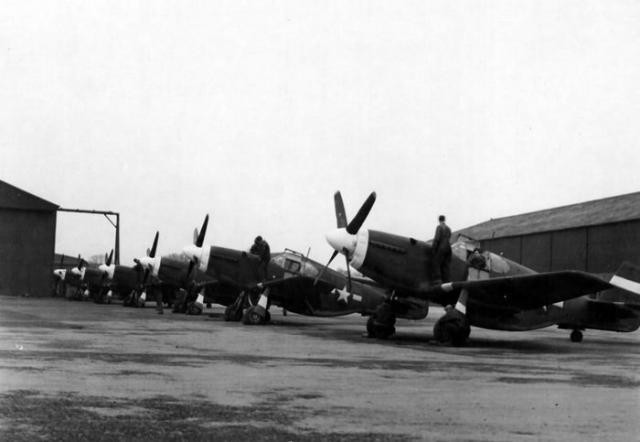 P 51b mustangs burtonwood