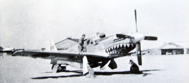 P 51c 11 nt s n 44 10816 after capture in japan b