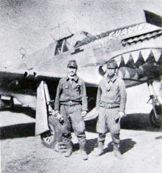 P 51c 11 nt s n 44 10816 after capture in japan