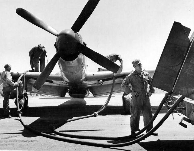 P 51d 15th fg iwo jima 1945