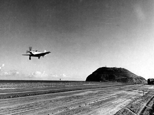 P 51d 21st fg iwo jima