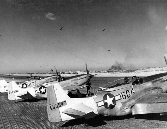P 51d 44 63647 462nd fs 506th fg iwo jima 1945
