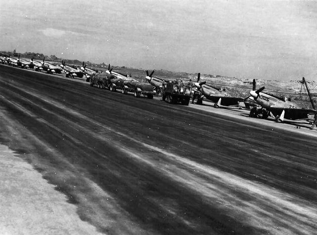 P 51d 44 63733 72nd fs 21st fg iwo jima 1945