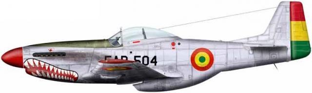 P 51d bolivia fab 504