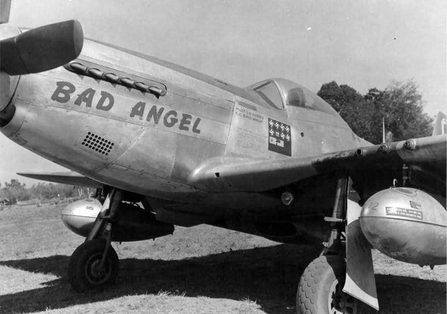 P 51d mustang bad angel