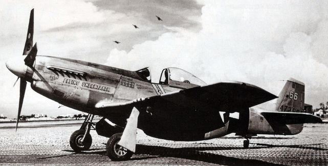P 51d mustang the flying undertaker shomo
