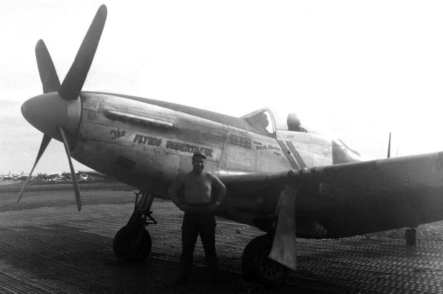 P 51d mustang the flying undertaker