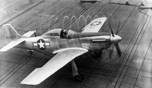 P 51d mustang uss shangri la 1944 1st lt elder