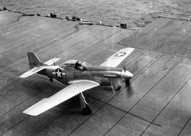 P 51d mustang uss shangri la 1944