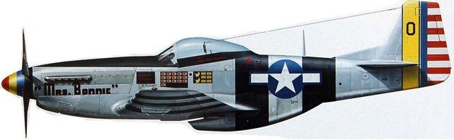 P 51k mustang mrs bonnie
